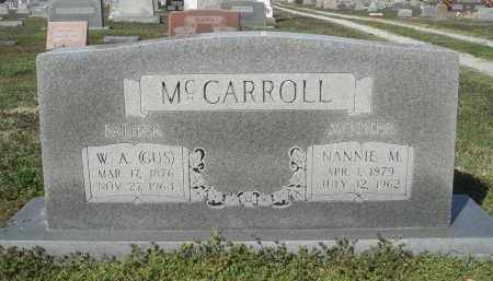 "MCCARROLL, WILLIAM AUGUSTUS ""GUS"" - Lawrence County, Arkansas 