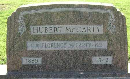MCCARTY, HUBERT - Lawrence County, Arkansas | HUBERT MCCARTY - Arkansas Gravestone Photos