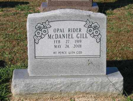 RIDER MCDANIEL, OPAL VIRGINIA - Lawrence County, Arkansas | OPAL VIRGINIA RIDER MCDANIEL - Arkansas Gravestone Photos