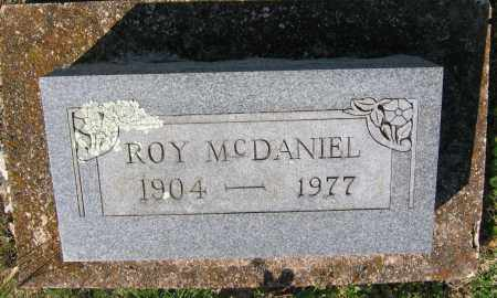 MCDANIEL, ROY - Lawrence County, Arkansas | ROY MCDANIEL - Arkansas Gravestone Photos