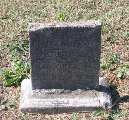 MCDONALD, C. GUTHRIE - Lawrence County, Arkansas   C. GUTHRIE MCDONALD - Arkansas Gravestone Photos