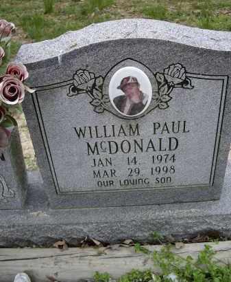 MCDONALD, WILLIAM PAUL - Lawrence County, Arkansas | WILLIAM PAUL MCDONALD - Arkansas Gravestone Photos