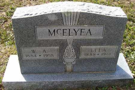 "MCELYEA, FRANCES ELLA ""MISS ELLER"" - Lawrence County, Arkansas 