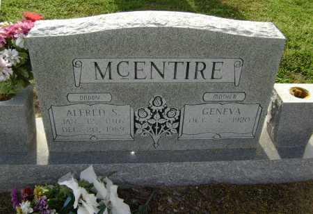 MCENTIRE, ALFRED S. - Lawrence County, Arkansas | ALFRED S. MCENTIRE - Arkansas Gravestone Photos