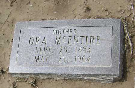 MCENTIRE, GEORGIA ORA - Lawrence County, Arkansas | GEORGIA ORA MCENTIRE - Arkansas Gravestone Photos