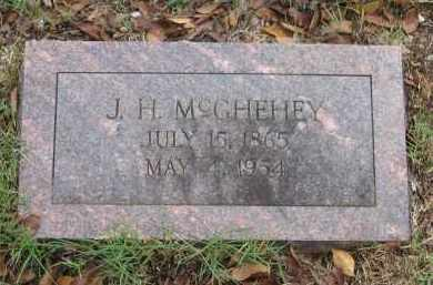 "MCGHEHEY, JOHN HENRY ""J. H."" - Lawrence County, Arkansas 