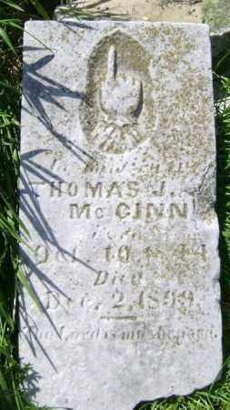 MCGINNIS, THOMAS J. - Lawrence County, Arkansas | THOMAS J. MCGINNIS - Arkansas Gravestone Photos