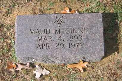 MCGINNIS (2), MAUD - Lawrence County, Arkansas | MAUD MCGINNIS (2) - Arkansas Gravestone Photos