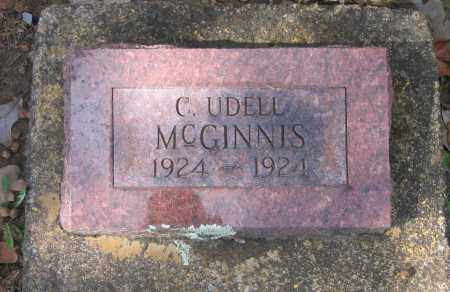 MCGINNIS, C. UDELL - Lawrence County, Arkansas | C. UDELL MCGINNIS - Arkansas Gravestone Photos