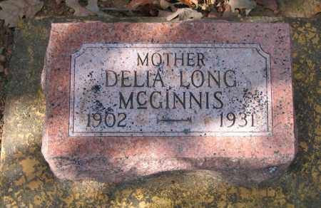 LONG MCGINNIS, DELIA - Lawrence County, Arkansas | DELIA LONG MCGINNIS - Arkansas Gravestone Photos