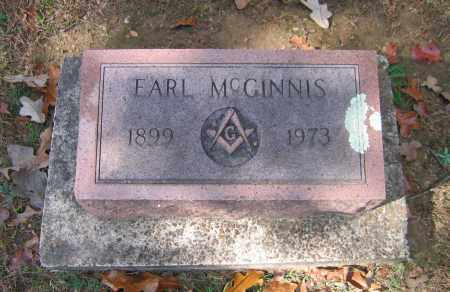 MCGINNIS, EARL NAPOLEON - Lawrence County, Arkansas | EARL NAPOLEON MCGINNIS - Arkansas Gravestone Photos
