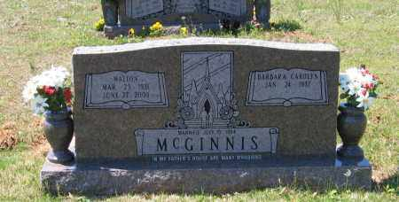 MCGINNIS, WALTON - Lawrence County, Arkansas | WALTON MCGINNIS - Arkansas Gravestone Photos