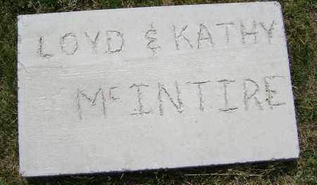MCINTIRE, LLOYD EDWARD - Lawrence County, Arkansas | LLOYD EDWARD MCINTIRE - Arkansas Gravestone Photos