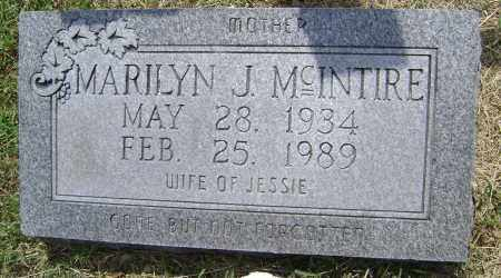MCINTIRE, MARILYN J. - Lawrence County, Arkansas | MARILYN J. MCINTIRE - Arkansas Gravestone Photos