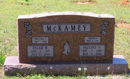 MCKAMEY, JR., OSCAR HAYGOOD - Lawrence County, Arkansas | OSCAR HAYGOOD MCKAMEY, JR. - Arkansas Gravestone Photos