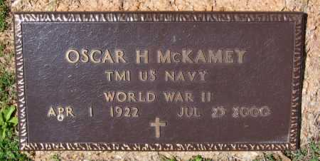 MCKAMEY, JR. (VETERAN WWII), OSCAR HAYGOOD - Lawrence County, Arkansas | OSCAR HAYGOOD MCKAMEY, JR. (VETERAN WWII) - Arkansas Gravestone Photos
