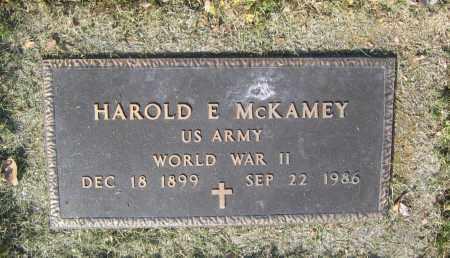 MCKAMEY (VETERAN WWII), HAROLD EUGENE - Lawrence County, Arkansas | HAROLD EUGENE MCKAMEY (VETERAN WWII) - Arkansas Gravestone Photos