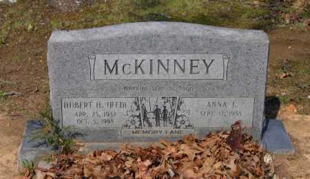"MCKINNEY, HUBERT HARVEY HOWARD ""RED"" - Lawrence County, Arkansas | HUBERT HARVEY HOWARD ""RED"" MCKINNEY - Arkansas Gravestone Photos"
