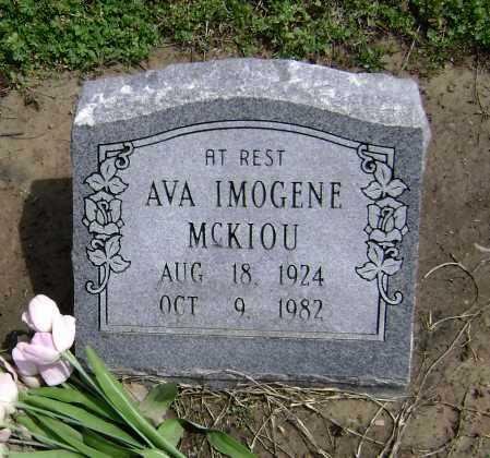 MCKIOU, AVA IMOGENE - Lawrence County, Arkansas | AVA IMOGENE MCKIOU - Arkansas Gravestone Photos