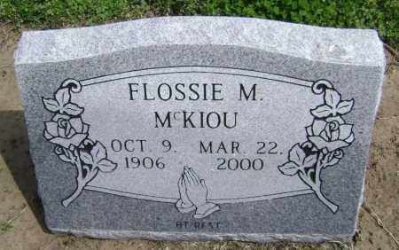 MCKIOU, FLOSSIE M. - Lawrence County, Arkansas | FLOSSIE M. MCKIOU - Arkansas Gravestone Photos