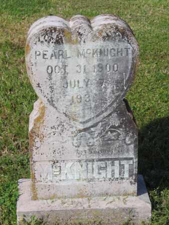 MCKNIGHT, PEARL - Lawrence County, Arkansas | PEARL MCKNIGHT - Arkansas Gravestone Photos