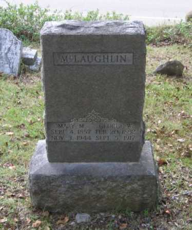 MCLAUGHLIN, GEORGE WASHINGTON - Lawrence County, Arkansas | GEORGE WASHINGTON MCLAUGHLIN - Arkansas Gravestone Photos