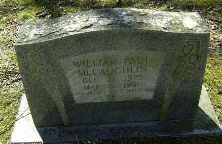 MCLAUGHLIN, WILLIAM PAUL - Lawrence County, Arkansas | WILLIAM PAUL MCLAUGHLIN - Arkansas Gravestone Photos