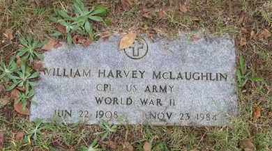 MCLAUGHLIN (VETERAN WWII), WILLIAM HARVEY - Lawrence County, Arkansas | WILLIAM HARVEY MCLAUGHLIN (VETERAN WWII) - Arkansas Gravestone Photos