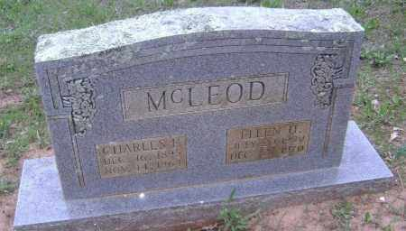 DENT MCLEOD, ELLEN - Lawrence County, Arkansas | ELLEN DENT MCLEOD - Arkansas Gravestone Photos