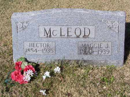 MCLEOD, HECTOR MURDOCK - Lawrence County, Arkansas | HECTOR MURDOCK MCLEOD - Arkansas Gravestone Photos