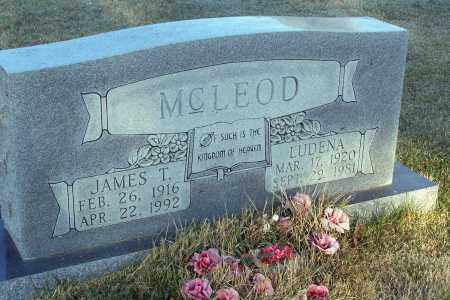 MCLEOD, JAMES TIBBLE - Lawrence County, Arkansas | JAMES TIBBLE MCLEOD - Arkansas Gravestone Photos