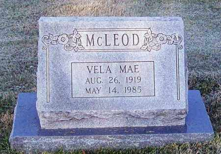MCLEOD, VELA MAE - Lawrence County, Arkansas | VELA MAE MCLEOD - Arkansas Gravestone Photos