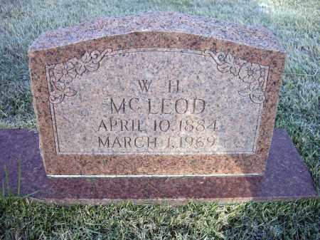 MCLEOD, WILLIAM HENRY - Lawrence County, Arkansas | WILLIAM HENRY MCLEOD - Arkansas Gravestone Photos