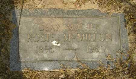 MCMILLON, ROSIE - Lawrence County, Arkansas | ROSIE MCMILLON - Arkansas Gravestone Photos