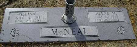 MCNEAL, WILLIAM L. - Lawrence County, Arkansas | WILLIAM L. MCNEAL - Arkansas Gravestone Photos