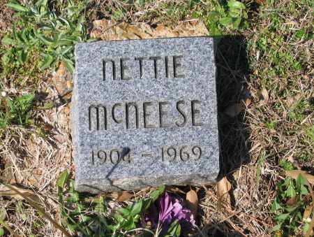 MCNEESE, NETTIE - Lawrence County, Arkansas | NETTIE MCNEESE - Arkansas Gravestone Photos
