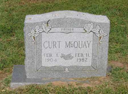 MCQUAY, CURT - Lawrence County, Arkansas | CURT MCQUAY - Arkansas Gravestone Photos