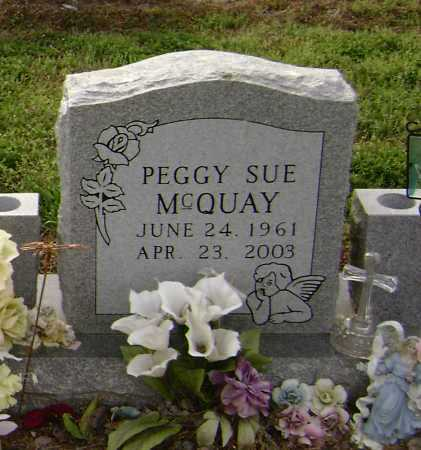 MCQUAY, PEGGY SUE - Lawrence County, Arkansas | PEGGY SUE MCQUAY - Arkansas Gravestone Photos