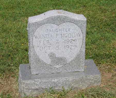 MCQUAY, WANDA P. - Lawrence County, Arkansas | WANDA P. MCQUAY - Arkansas Gravestone Photos