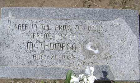 MCTHOMPSON, JEREMY SCOTT - Lawrence County, Arkansas | JEREMY SCOTT MCTHOMPSON - Arkansas Gravestone Photos