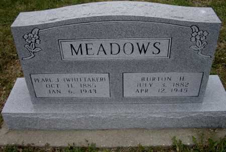 MEADOWS, BURTON H. - Lawrence County, Arkansas | BURTON H. MEADOWS - Arkansas Gravestone Photos