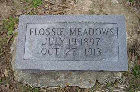 MEADOWS, FLOSSIE - Lawrence County, Arkansas | FLOSSIE MEADOWS - Arkansas Gravestone Photos