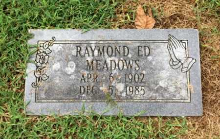 "MEADOWS, RAYMOND EDWARD ""ED"" - Lawrence County, Arkansas 