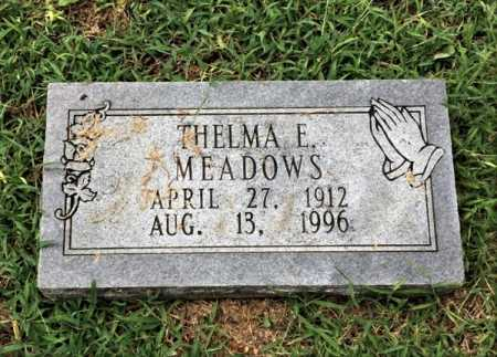 MEADOWS, THELMA E. - Lawrence County, Arkansas | THELMA E. MEADOWS - Arkansas Gravestone Photos
