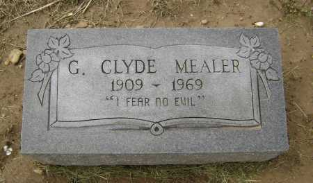 MEALER, GEORGE CLYDE - Lawrence County, Arkansas | GEORGE CLYDE MEALER - Arkansas Gravestone Photos