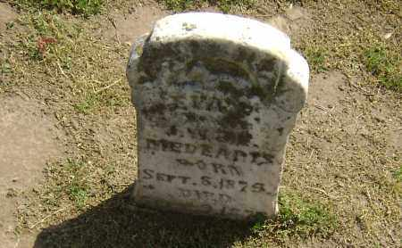 MEDARIS, EVA F. - Lawrence County, Arkansas | EVA F. MEDARIS - Arkansas Gravestone Photos