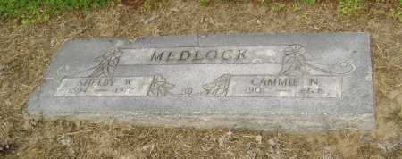 MEDLOCK, CAMMIE N. - Lawrence County, Arkansas | CAMMIE N. MEDLOCK - Arkansas Gravestone Photos