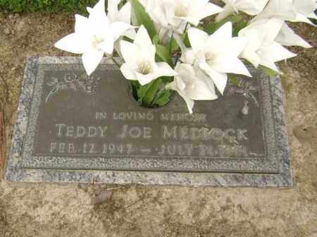 MEDLOCK, TEDDY JOE - Lawrence County, Arkansas | TEDDY JOE MEDLOCK - Arkansas Gravestone Photos