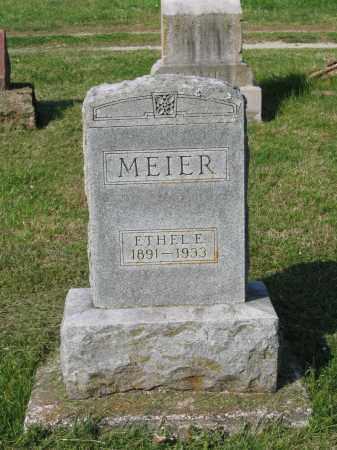 MEIER, ETHEL E. - Lawrence County, Arkansas | ETHEL E. MEIER - Arkansas Gravestone Photos