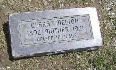 MELTON, CLARA - Lawrence County, Arkansas | CLARA MELTON - Arkansas Gravestone Photos